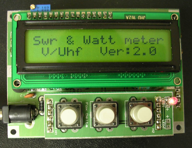 RF Meter: LCD Removed